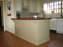 kitchen top counters made of mohogany available in south africa. Solid wood Kitchen Island Counter in in Saligna and Mohogany